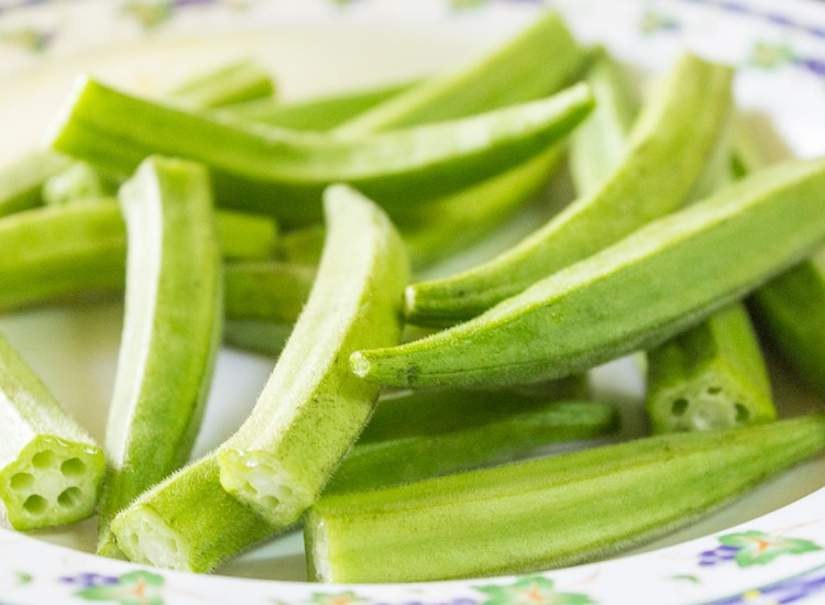 bhindi okra curry recipe preparation