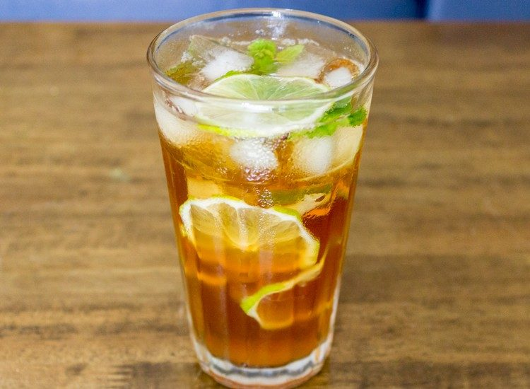 Lemon Iced Tea That Fiji Taste