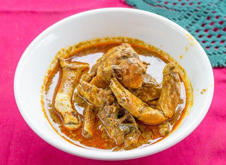 fijian lairo crab curry recipe