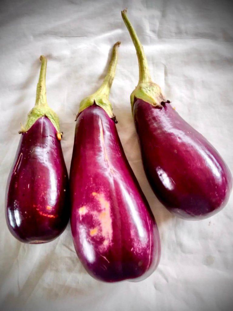Baigan choka eggplant